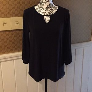 Chico small size 0 black blouse